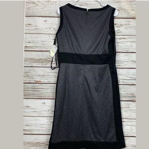 Black and Gray Sleeveless dress Tahari